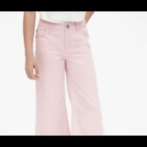 GAP high rise wide jeans pink color 🔥🔥